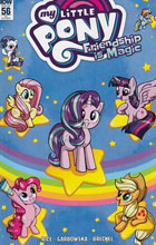 Image: My Little Pony: Friendship Is Magic #56 (incentive cover - Mary Bellamy) (10-copy)  [2017] - IDW Publishing