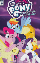 Image: My Little Pony: Legends of Magic #4 (incentive cover - Trish Forstner) (10-copy)  [2017] - IDW Publishing