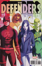 Image: Defenders #3 (variant cover - Forbes) - Marvel Comics