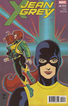 Image: Jean Grey #4 (variant X-Men cover - Brigman) - Marvel Comics