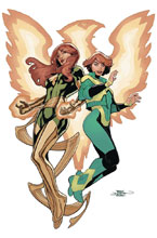 Image: Generations: Phoenix & Jean Grey by Dodson Poster  - Marvel Comics