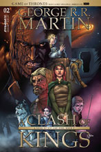Image: George R. R. Martin's A Clash of Kings #2 (cover B subscription - Mel Rubi) - Dynamite