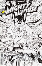 Image: Mighty Mouse #2 (Lima b&w incentive cover - 02041) (15-copy)  [2017] - Dynamite