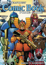 Image: Overstreet Comic Book Price Guide 47th Edition, 2017-2018 HC  (Star Slammers cover) - Gemstone Publishing