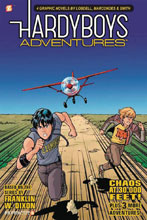 Image: Hardy Boys Adventures Vol. 03: Chaos at 30,000 Feet! SC  - Papercutz