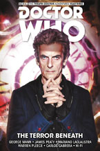 Image: Doctor Who: The Twelfth Doctor Time Trials Vol. 01: The Terror Beneath HC  - Titan Comics