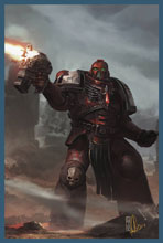 Image: Warhammer 40,000: Dawn of War III #4 (cover A - Sondered)  [2017] - Titan Comics