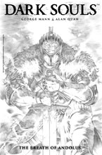 Image: Dark Souls: The Breath of Andolus Artist's Edition HC  - Titan Comics