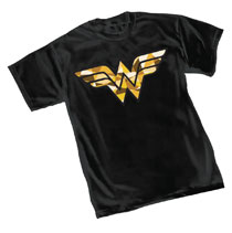 Image: Wonder Woman T-Shirt: Cube  (M) - Graphitti Designs