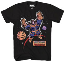 Image: Marvel T-Shirt: A Titan Risen [Black]  (L) - Mad Engine
