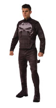 Image: Marvel Punisher Adult Standard Costume  - Rubies Costumes Company Inc