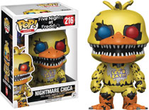Image: POP! Games Vinyl Figure 216: Five Nights at Freddy's - Nightmare Chica  - Funko