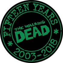 Image: Walking Dead 15th Anniversary Pin  - Image Comics