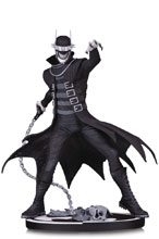 Image: Batman Black & White Statue: The Batman Who Laughs by Greg Capullo  - DC Comics