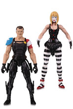 Image: Doomsday Clock Action Figure 2-Pack: The Comedian & Marionette  - DC Comics