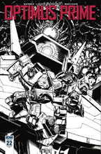 Image: Optimus Prime #22 (incentive cover - Zama) (10-copy) - IDW Publishing