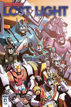 Image: Transformers: Lost Light #21 (cover A - Lawrence) - IDW Publishing