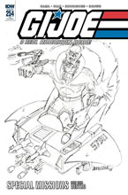 Image: G.I. Joe: A Real American Hero #254 (incentive cover - Hama) (10-copy) - IDW Publishing
