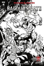 Image: Dungeons & Dragons: Evil at Baldur's Gate #4 (incentive cover - Bachs) (10-copy) - IDW Publishing