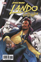 Image: Star Wars: Lando - Double or Nothing #3 (Jamal Campbell variant cover)  [2018] - Marvel Comics