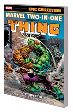 Image: Marvel Two-in-One Epic Collection: Cry Monster SC  - Marvel Comics