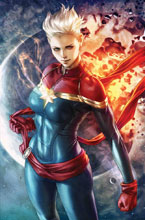 Image: Life of Captain Marvel by Artgerm Poster  - Marvel Comics