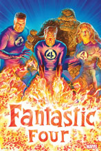 Image: Fantastic Four 2018 by Alex Ross Poster  - Marvel Comics
