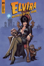 Image: Elvira: Mistress of the Dark #1 (cover A - Linsner) - Dynamite