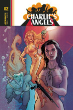 Image: Charlie's Angels #2 (cover A - Roux) - Dynamite