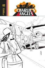 Image: Charlie's Angels #2 (cover C incentive - Eisma B&W) (10-copy) - Dynamite