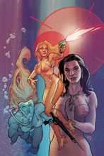 Image: Charlie's Angels #2 (cover E incentive - Roux virgin art) (20-copy) - Dynamite