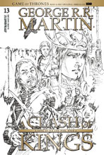 Image: George R. R. Martin's A Clash of Kings #13 (cover D incentive - Rubi B&W) (15-copy) - Dynamite