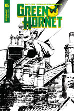 Image: Green Hornet Vol. 02 #5 (cover C incentive - McKone B&W) (10-copy)  [2018] - Dynamite