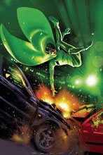 Image: Green Hornet Vol. 02 #5 (cover D - Galindo virgin art) (20-copy) - Dynamite