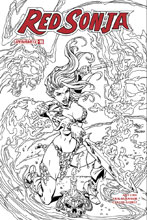 Image: Red Sonja Vol. 04 #19 (cover F incentive - Royle B&W) (10-copy) - Dynamite
