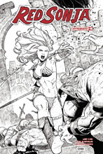 Image: Red Sonja Vol. 04 #19 (cover G incentive - Chen B&W) (20-copy)  [2018] - Dynamite