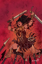Image: Xena: Warrior Princess Vol. 02 #6 (cover C incentive - Davila virgin art) (10-copy) - Dynamite
