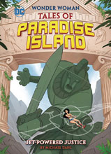 Image: Wonder Woman: Tales of Paradise Island - Jet Powered Justice SC  - Capstone Press