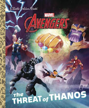 Image: Avengers Little Golden Book: The Threat of Thanos  - Golden Books