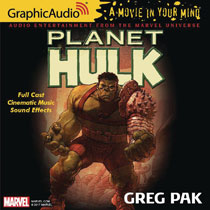 Image: Marvel Graphic Audio: Planet Hulk CD  - Graphic Audio/The Cutting Corp