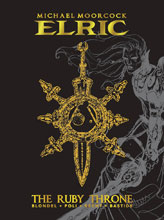 Image: Elric: Ruby Throne Deluxe Edition HC  - Titan Comics