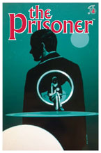 Image: Prisoner: The Uncertainty Machine #4 (cover A - Lorimer)  [2018] - Titan Comics