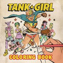 Image Tank Girl Coloring Book