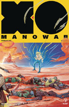 Image: X-O Manowar [2017] #17 (cover C incentive Interlocking - Fish) (20-copy) - Valiant Entertainment LLC