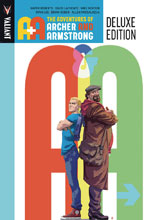Image: A&A: The Adventures of Archer and Armstrong Deluxe Edition HC  - Valiant Entertainment LLC