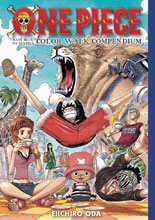 Image: One Piece Color Walk Compendium: East Blue Skypiea SC  - Viz LLC