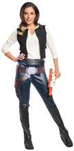 Image: Star Wars Costume: Han Solo [Female]  (M) - Rubies Costumes Company Inc