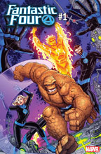 Image: Fantastic Four #1 (variant cover - Nick Bradshaw) - Marvel Comics