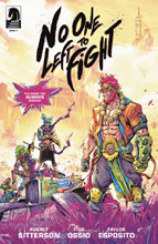 Image: No One Left to Fight #1 - Dark Horse Comics