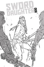 Image: Sword Daughter #8 (cover B - Chater) - Dark Horse Comics